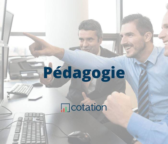 pedagogie trading bourse formation