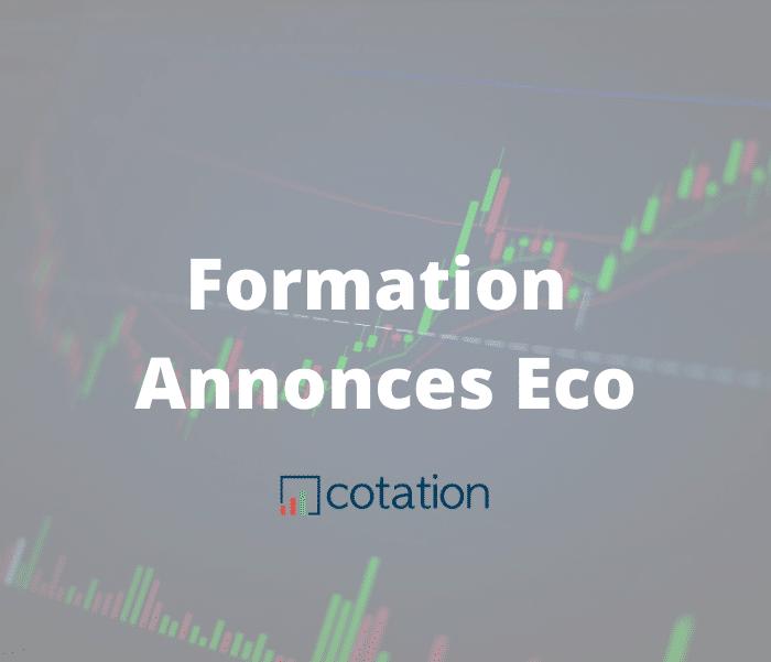formation trading annonce économique forex
